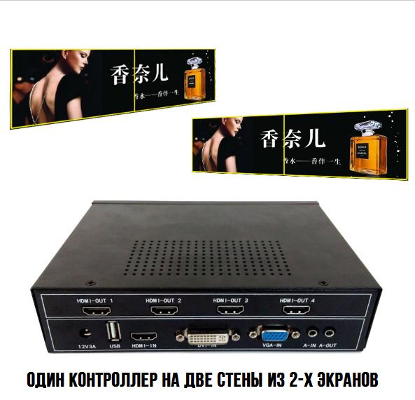 Контроллер Видео Стены 1х2